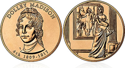 2007 Dolley Madison First Spouse Medal