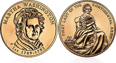 2007 Martha Washington First Spouse Medal