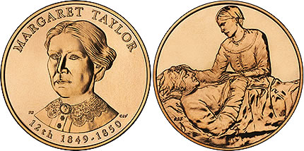 2009 Margaret Taylor First Spouse Medal
