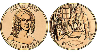 2009 Sarah Polk First Spouse Medal