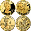 Louisa Adams First Spouse Coins