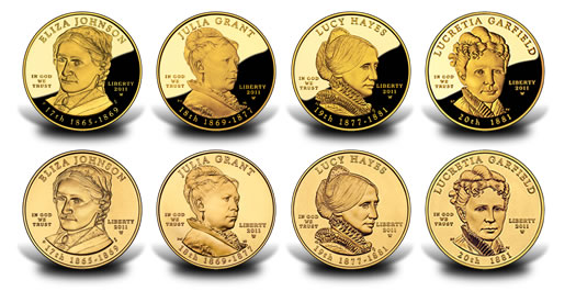 2017 First Spouse Gold Coins The United States Mint