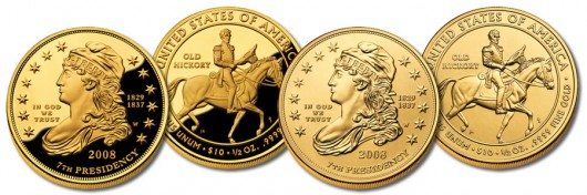 Jackson's Liberty First Spouse Gold Coins